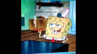 Spongebob-At night.