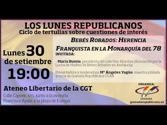 Bebés robados: herencia franquista en la Monarquía del 78 - Tertulia con María Bueno