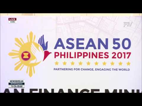 NEWS BREAK: Financial Intergration sa Rehiyon, tatalakayin ngayon ng #ASEAN sa Cebu