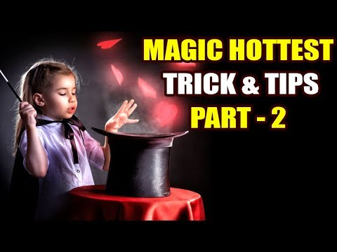 Learn Easy Magic in Telugu HD | Magic Hottest Trick & Tips | Learn Black Magic HD |