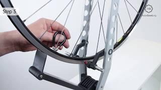 True A Bike Wheel Rim To Make It Circular