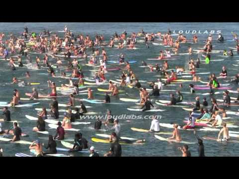 Ben Carlson Memorial Paddle Out / Newport Beach