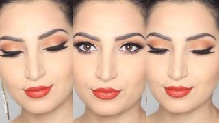 Fall Makeup: Orange Inspired |imacurface|