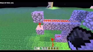 Minecraft 1.8.1 bug.Como andar de minecart sem trilho