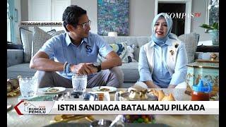 Istri Sandiaga Uno Batal Maju Pilkada Tangerang Selatan 2020