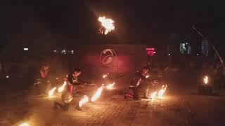 Огненное шоу в Доброполье