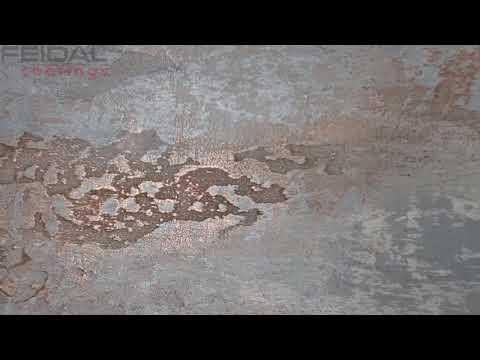 Декоративный жидкий метал, эффект меди на стенах!