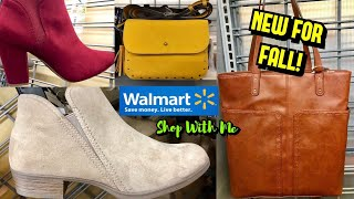 Walmart Shop With Me NEW Shoe Fashion & Handbags BOOTS And More!