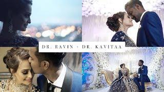 Most Beautiful Indian Wedding Reception | Ravin & Kavitaa Reception Highlight