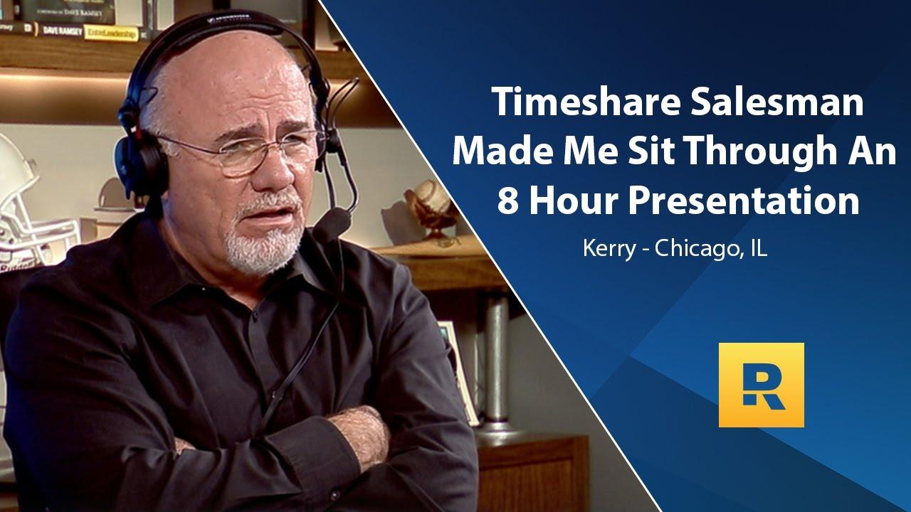 time share salesman
