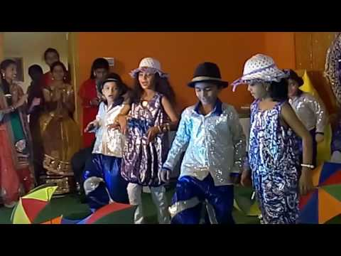 Na alludu dance performance on stage