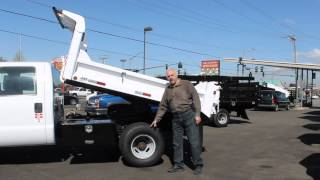 Town and Country Truck #5941: 2003 FORD F350 Superduty Crewcab 2.5-3 Yard Dump Truck