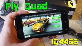Обзор смартфона Fly Quad EVO Chic 1 IQ4405