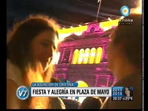 Download Visin Siete Asuncin Presidencial Alegra y felicidad en Plaza de Mayoyoutube com