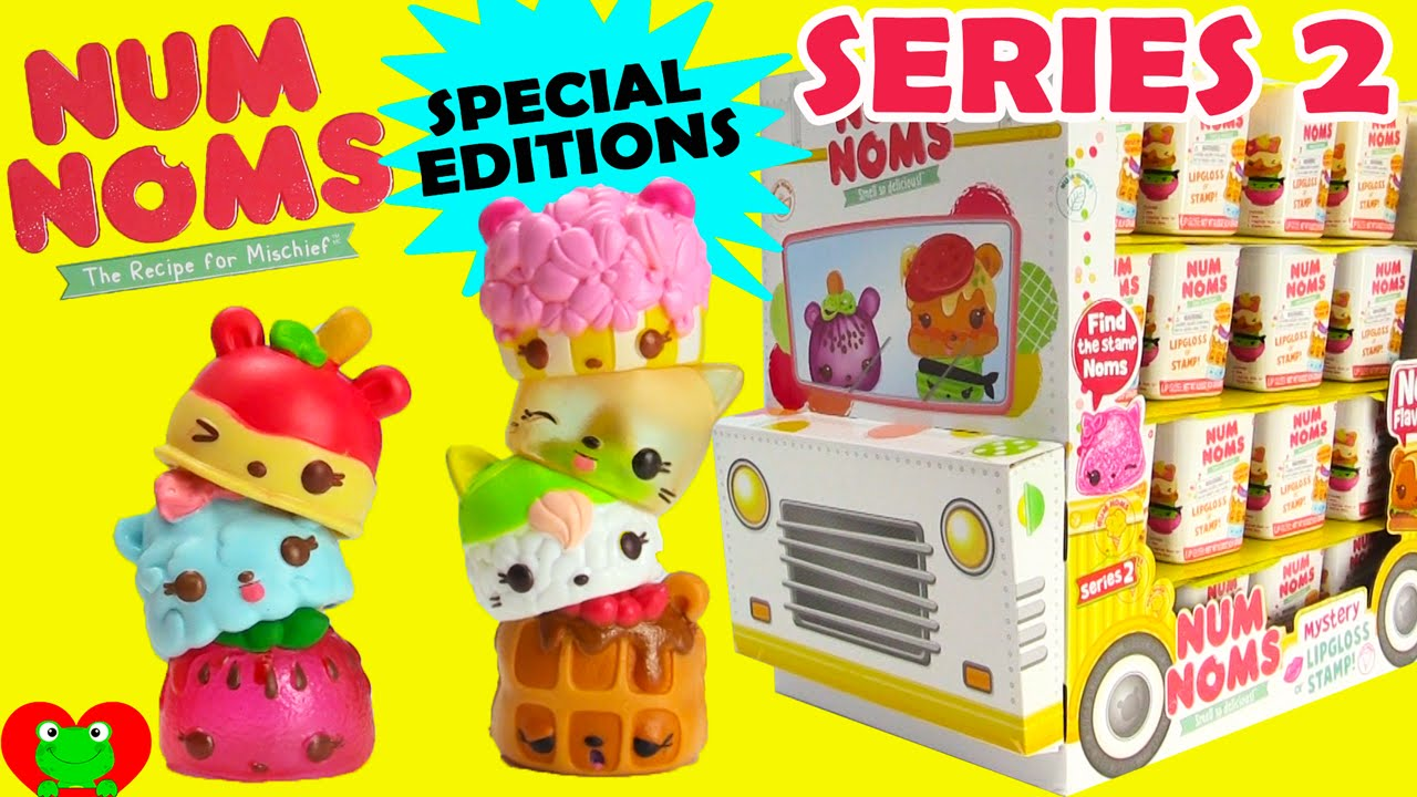 Num Noms Series 2 Full Case Opening With 4 Special Edition