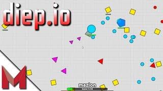 DIEP.IO GAME -  FIRST IMPRESSIONS ON DIEP.IO GAMEPLAY - Ep1