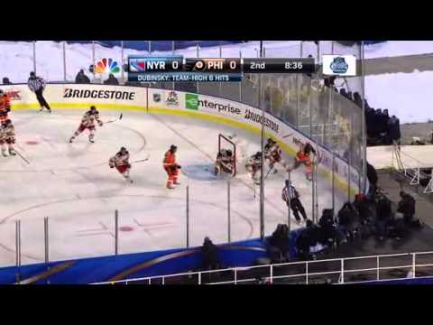 NHL 2012 Winter Classic : NY Rangers - Philadelphia Flyers 3:2 [Full game] ; 01.01.2012.