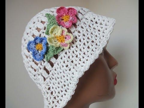 Летняя панама Часть 1 Summer panama Crochet Part 1