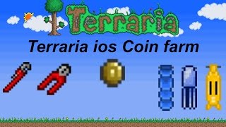 Terraria ios 1.2 | Coin farm tutorial (infinite money!)