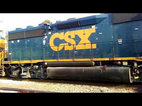 CSX 144 leads a slug