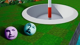 GIANT MiniGolf Course Challenge! | Golf It [Ep 20]