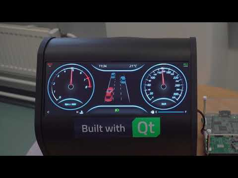 Low-End Digital Automotive Instrument Cluster {showcase}
