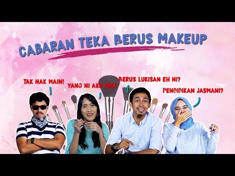 Cabaran Teka Berus Make Up