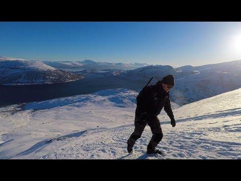 Arctic climb 806 meters above sea level
