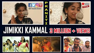 Praniti | Jimikki Kammal | Mashup | Acapella Version [Praniti Official Video]