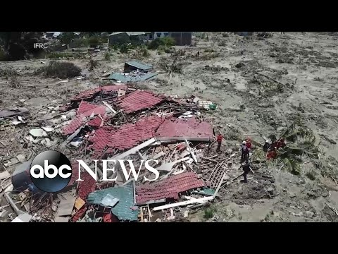More than 1,400 dead, thousands injured after Indonesia quake
