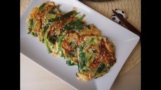 Корейская кухня: Яче чон (야채전) или овощные оладьи
