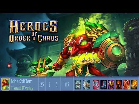 Heroes Of Order & Chaos - The Headless Horror T'saad D'velay - 5vs5