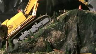 RC scale construction equipment