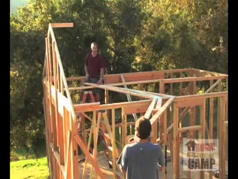 How To Install Trusses Youtube