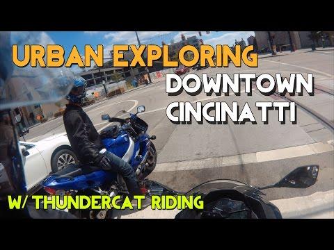 Rev Bombing Girls Downtown Cincinnati Feat. Trump Rally