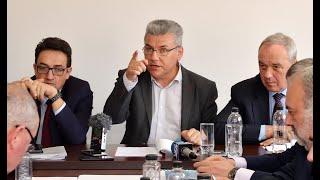 Ministrul apelor și pădurilor, Ioan Deneș, a efectuat o vizită de lucru în județul Hunedoara