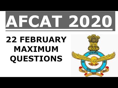 AFCAT 2020 QUESTION ANALYSIS    AFCAT ANSWER KEY