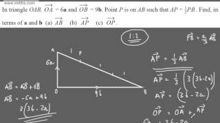 GCSE Tutorial    Vectors 1   Intorduction   Higher Maths