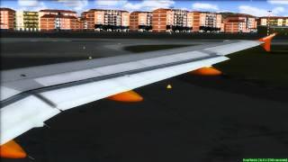 easyJet A320 Ciampino Departure FS2004