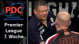Rob Cross weltmeisterlich! Barney vs Anderson mit Drama | Highlights | PDC Premier League | DAZN