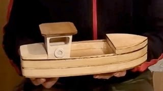 Wood Toy Plans - Stojanovic Fishing Boat