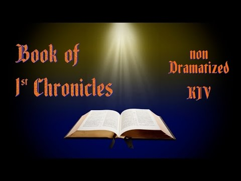1st Chronicles KJV Audio Bible with Text