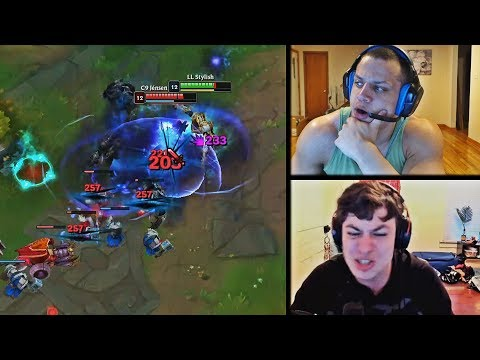 TYLER1 REALIZES OF HIS TEAMMATE'S AND ENEMY TEAM'S RANKS DIFFERENCE | LL STYLISH VS JENSEN | LOL