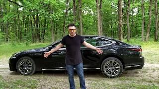 Тест-драйв Lexus LS.  Японский заменитель Ауди