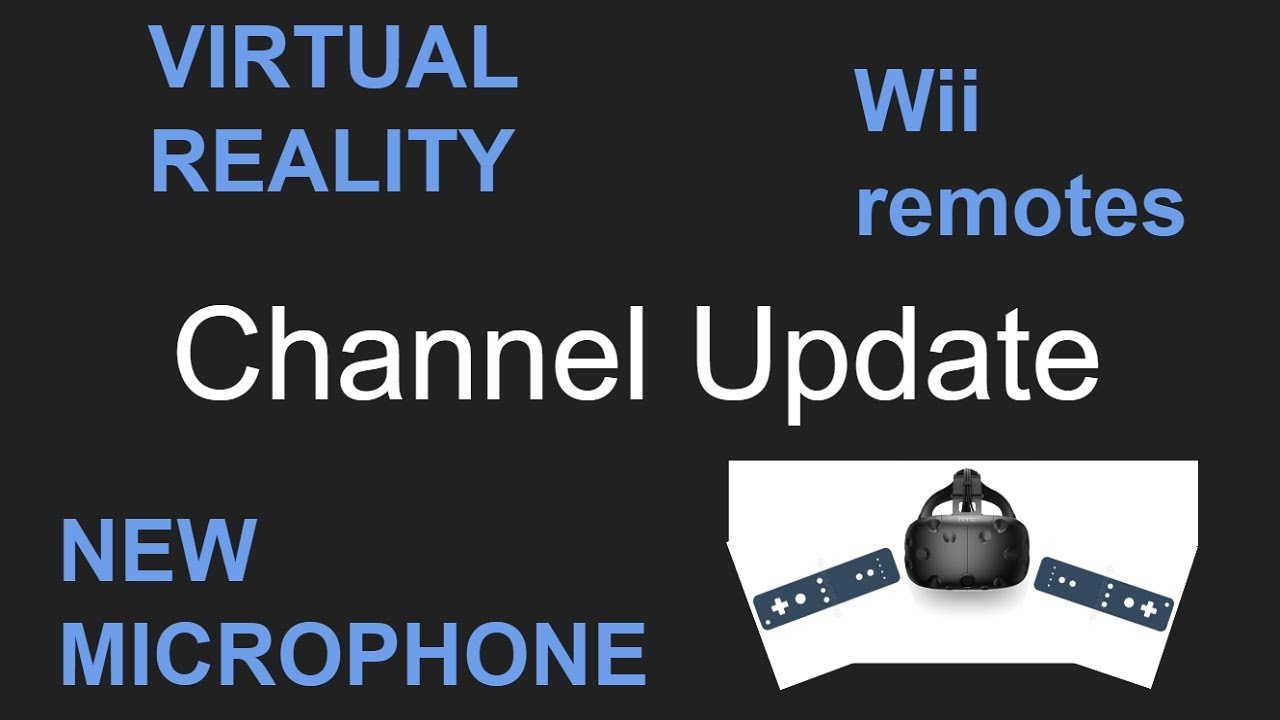 Exciting News! VR & Wii Remotes, Adsense, New Microphone