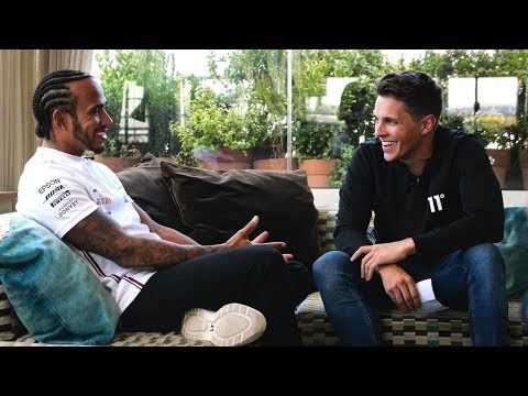 Lewis Hamilton Meets Archie Hamilton! | Exclusive Interview