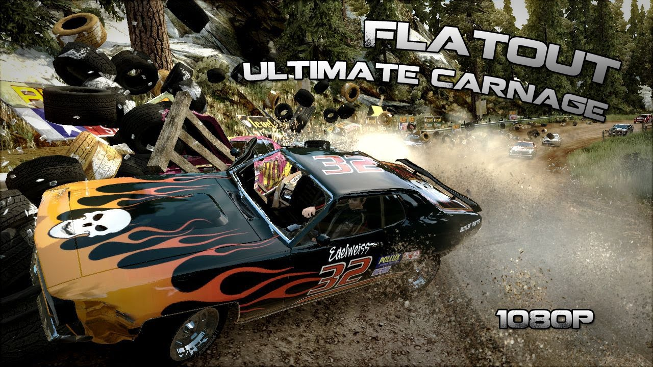 flatout ultimate carnage gameplay hd youtube. Black Bedroom Furniture Sets. Home Design Ideas