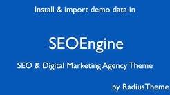 SEOEngine - SEO & Digital Marketing Agency WordPress Theme [Installation]