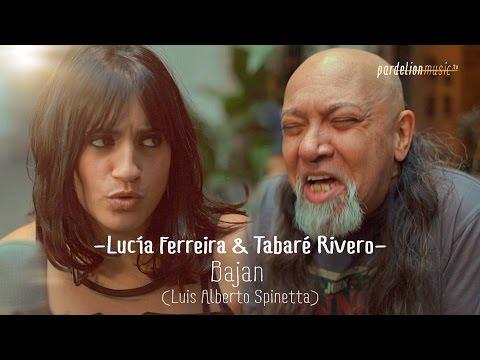 Lu Ferreira & Tabaré Rivero - Bajan (L. A. Spinetta) (Live on PardelionMusic.tv)