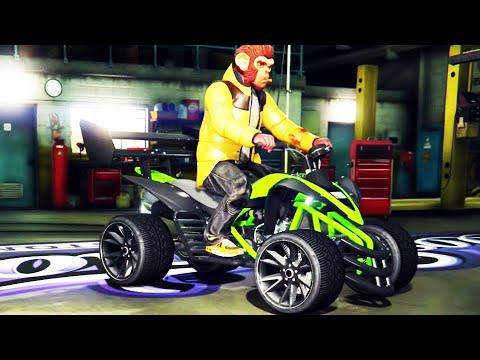 "GTA ONLINE - Pimp My Ride | street blazer ""Spy Racing Quad"" Car Tuning Customization (GTA V)"